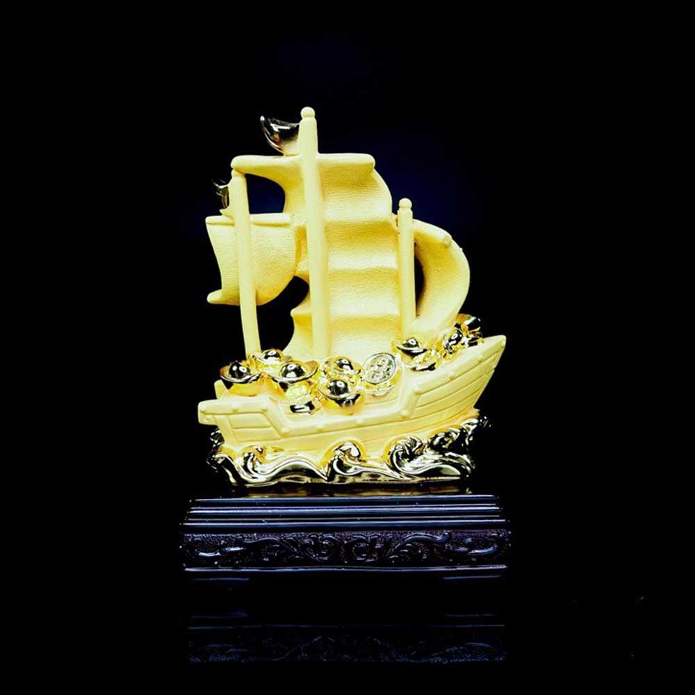 เรือสำเภา ฐานไม้