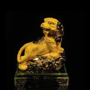 เสือทองพ่นทราย ฐานแก้ว – ZTG001