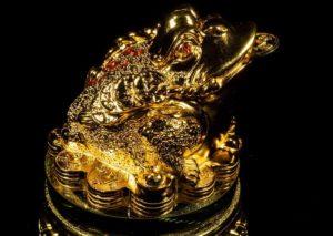 กบคาบเหรียญ มงคล ไอเทมเสริมฮวงจุ้ย เรียกเงินเรียกทอง
