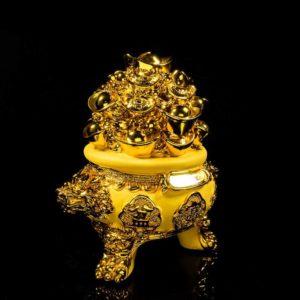 ถังทองก้อน กระปุกออมสิน มีผาเปิด – FBW002