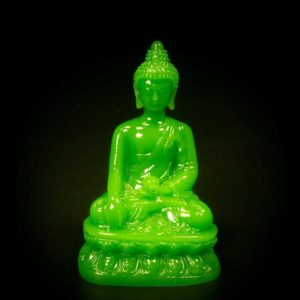 พระพุทธรูป เรซิ่นหยก ปางมารวิชัย – GBI001
