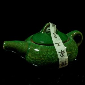 ชุดกาน้ำชาจีนเซรามิค สีหยก – TSS003