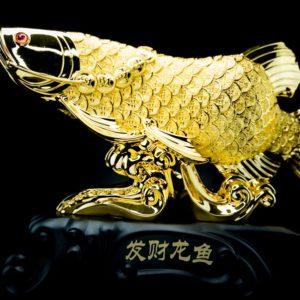 ปลามังกร  ขนาด สูง 38ซม กว้าง 52 ซม ลึก 13 ซม